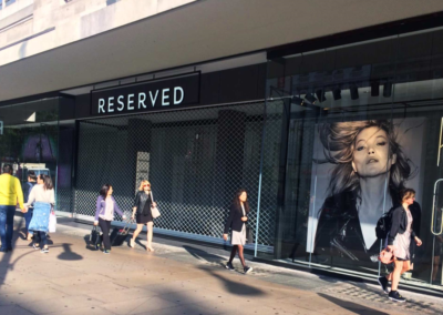 Reserved, Oxford Street