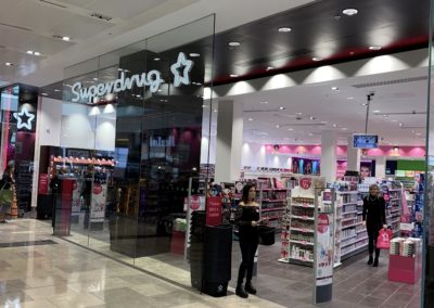 Superdrug, Various Stores